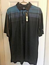 Callaway Golf Men'S Cooling Textured Modern Print Short Sleeve Polo (Large)