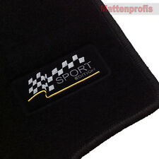 Velours Sport Edition Fußmatten für Opel Astra G Coupe ab Bj.2000 - 2005
