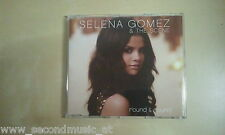 MAXI CD--SELENA GOMEZ & THE SCENE--ROUND & ROUND--2  TRACKS