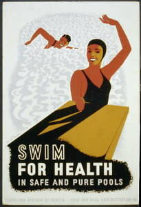 Swim for Health in Safe & Pure Pools,Cleveland Division of Health,Exercise 8765