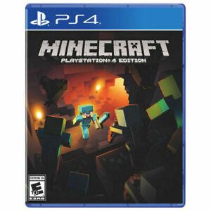 NEW Minecraft -- PlayStation 4 Edition (Sony PlayStation 4, 2014)