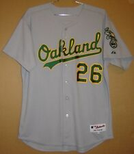 OAKLAND ATHLETICS #26 SULLIVAN GRAY A'S AUTHENTIC MLB JERSEY