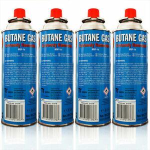 Lot de 4 Cartouche bonbonne Recharge Butane Gaz Réchaud 227G CAM MSF-1a sun-02