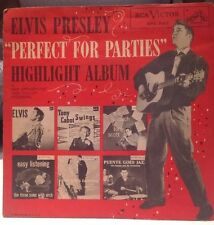 """Elvis Presley """" PERFECT FOR PARTIES"""" 1956"""