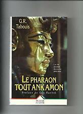 Pharaon toutankamon (le) by Tabouis-ExLibrary