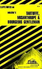 Cliffs Notes for Moliere's Tartuffe, Misanthrope & Bourgeois Gentleman