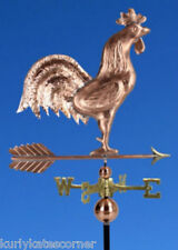 """LARGE COPPER """" ROOSTER"""" WEATHERVANE  MADE IN USA #363"""