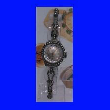 Mint Silver & Marcasite Swiss Avia Ladies Bracelet Deco Watch 1955