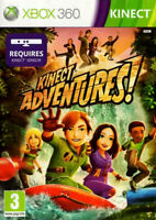 Kinect Adventures (Xbox 360) - free postage - with manual