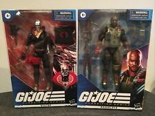 Hasbro G. I. Joe Classified 01 ROADBOCK / 03 DESTRO - MIB