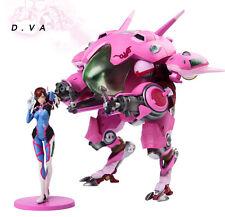 2017 Blizzard Overwatch OW D.Va Hana 23cm Action Figure Set Toys NEW WITH BOX