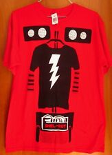 BIG BANG THEORY lrg T shirt NWT tee Shel-Bot TV sitcom Wheeled Robot new Sheldon