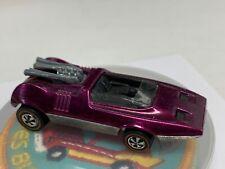 Hot Wheels Redline Peeping Bomb Purple Very Good 1969