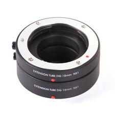 AF Auto Focus Macro Extension Tube 10mm 16mm Set Fr Samsung NX Mount Camera Lens