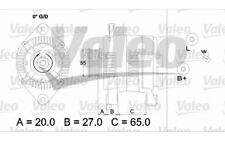 VALEO Alternador para RENAULT MEGANE CLIO SCENIC LAGUNA ESPACE 436713