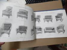 c.1920 American Reed & Willow Furniture Company Catalog Vintage Original