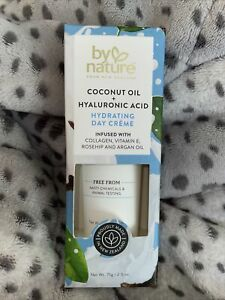 By Nature New Zealand Coconut Oil + Hyaluronic Acid Hydrating Day Creme