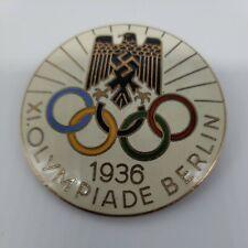 Authentic Original 1936 Berlin Olympics Pin