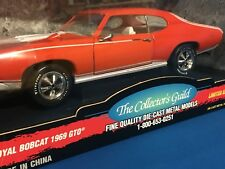 1969 PONTIAC GTO  CAROUSEL RED  ERTL 1/18 AMERICAN  MUSCLE 1 OF 2500