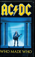 MFD IN CANADA 1986 HARD ROCK CASSETTE TAPE AC/DC : WHO MADE WHO