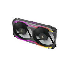 Antec PRIZM COOLING MATRIX Single Bracket Dual 120mm Case Fan w/ ARGB Strips