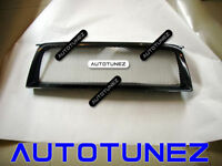 Carbon Fiber Car Grille Grill For Subaru Forester STI 2006-2007 Black AT