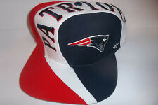 New England Patriots NFL 47 Brand Captains Logo Red Blue Hat Cap Adjustable SZ