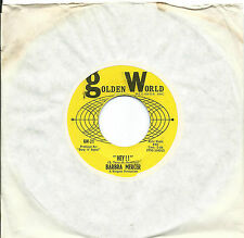 Barbra Mercer:Hey!!/Can't stop loving you baby:Golden World: Northern Soul