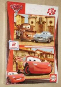 Educa Disney Cars 2 x 20 pcs jigsaw puzzle 14938 new sealed