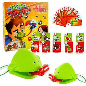 Tic Tac Tongue Chameleon Bug Catch Quick Draw Funny Game Family Kids G_3C