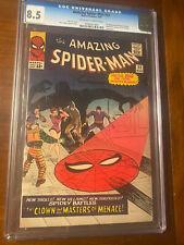 AMAZING SPIDER-MAN #22 3/65 CGC 8.5 OWW NICE HIGH GRADE KEY BOOK!!