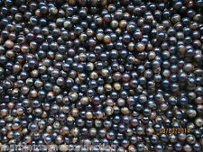 """MARBLE LOT2 POUNDS 5/8"""" BROWN & TAN BEAR CLAW MARBLE KING MARBLES FREE SHIPPING"""