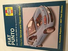 FIAT PUNTO HAYNES SERVICE REPAIR MANUAL 1.2L PETROL +SPEEDGEAR 1999-2003 V-03