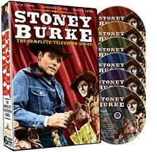 Stoney Burke Complete TV Show Series DVD Set Collection Jack Lord Video Westerns