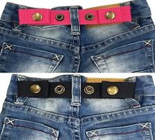 SNAP BELT for Baby&Toddler Boy & Girl Pants ADJUSTABLE-SISTER SELECTED x 2 set 3