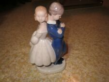 """Retired Bing Grondahl B&G Denmark """"Pardon Me"""" # 2372 Danish Porcelain Figurine"""