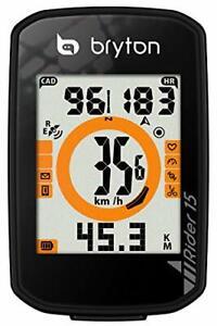 Rider 15 GPS Computer, Black
