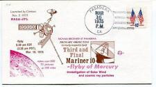 1975 Mariner 10 Mercury Solar Wind Centaur Pasadena USA NASA JPL SAT SPACE