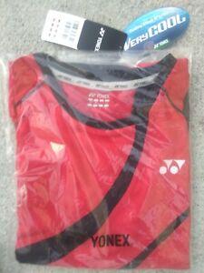 Yonex Red Tennis T-shirt