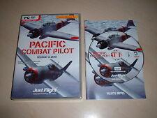 ✈️PACIFIC COMBAT PILOT WILDCAT / MARTLET & ZERO ~ FLIGHT SIMULATOR X  FSX ADD-ON