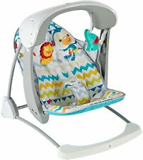 NEW Fisher-Price Colourful Carnival Take-Along Swing & Seat Baby/Boy/Girl/Child