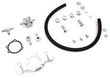EFI AIR CLEANER SUPPORT BRACKET BREATHER KIT CHROME HARLEY SPORTSTER XL 2007-15