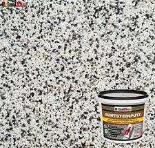 Buntsteinputz Mosaikputz BP10 (weiss, grau, schwarz) 10kg Absolute ProfiQualität
