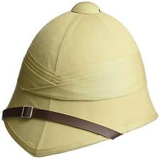 BRITISH PITH HELMET sand military safari hat army reenactment Zulu Boer war cap