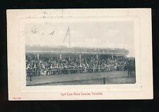 India CALCUTTA  Horse Racing Turf Club Race Course Grandstand 1913 PPC