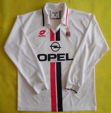 4.9/5 AC MILAN ITALY 1995/1997 AWAY LOTTO ORIGINAL SHIRT JERSEY MAGLIA Boys