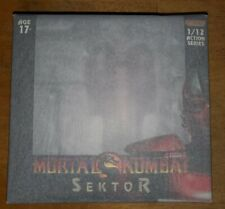 IN HAND! Storm Collectibles Sektor Mortal Kombat 1:12 Scale Action Figure NEW