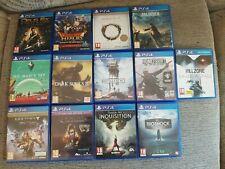 PS4 Lote de juegos Playstation 4