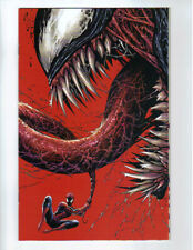 VENOM 1 2018 166 TYLER KIRKHAM UNKNOWN D RED CONVENTION VIRGIN VARIANT NM