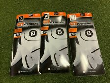 SALE: FootJoy GTExtreme Golf Glove (Left Hand, Size S, Black), pack of 3